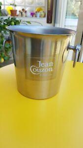 Joli seau à champagne Jean Couzon en inox.