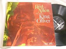 HENRY RED ALLEN Plays King Oliver Buster Bailey Milt Hinton Sammy Price Verve LP