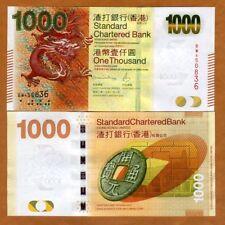 Hong Kong, $1000, 2016, SCB, P-301-New, UNC > Dragon