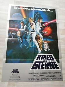 Star Wars Krieg der Sterne Original Movie Poster Germany 1977