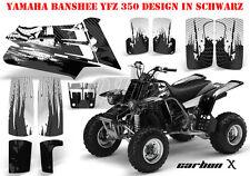 Amr racing décor Graphic Kit ATV yamaha le Hurleur yfz 350 carbone-x B