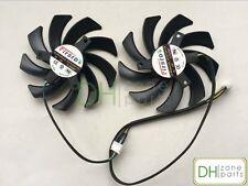 New 85mm FD7010H12S Video Card Dual Fan For Sapphire R9 270X 280X HD6850 HD6970