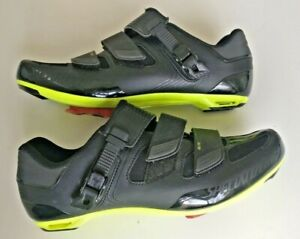 Specialized Body Geometry Elite Road Shoes Black Neon clip in 47 12