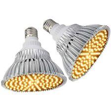 (Pack Of 2) Byingo LED Grow Light Bulb - 25W X 2, 380nm-780nm Full Spectrum For
