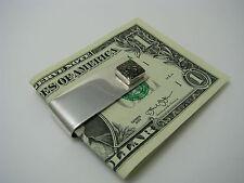 STERLING SILVER MONEY CLIP 925 Silver by Cecilia USA ca1980s Excel Cond No Mono