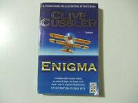 ENIGMA - Clive Cussler - Longanesi & C. - LIBRO