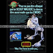 STAR WARS Figurines Kenner Clipper Miro Meccano (1983) : Pub Publicité Ad #A1262