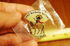 1997 Kerbela Shrine Circus Dad Freemason Shriner Masonic Mason Pinback