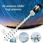 4G Directional Antenna External LTE High Gain 28dBi SMA Outdoor Signal Booster