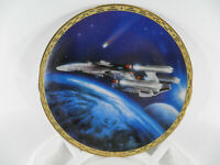 Star Trek: *Triple Nacelled U.S.S. Enterprise* Plate # 4237-A W/CERT