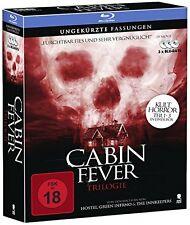 CABIN FEVER 1 2 & 3 TRILOGY box set  -  Blu Ray - Sealed Region B