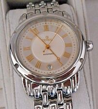 Mint Men's Gevril A0111R Automatic Date Stainless Swiss Watch. Box. Papers