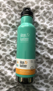 NEW Klean Kanteen Classic Insulated 20 oz. Bottle with Loop Cap, Teal