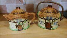 2 Pieces of Burlington Ware Cottage Ware