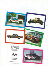 1991 Pioneer of Stockcar set of 5  Racing cards