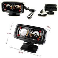 Car SUV Slope Meter Adjustable Rotary Balancer Guide Instrument with LED Light