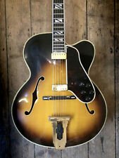 1974 / 1975 GIBSON JOHNNY SMITH ARCHTOP SEMI ACOUSTIC & HARD SHELL CASE
