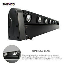 SHEHDS 8X12W Beam Moving Head Lighting DJ Disco Stage