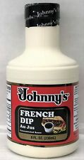 Johnny's French Dip Au Jus Concentrated Sauce 8 oz Johnnys