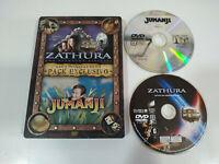 Zathura - Jumanji - Steelbook - Set Esclusivo 2 DVD - fuori Produzione - 3T