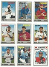 2019 TOPPS HERITAGE MINOR LEAGUE BASE -  PROSPECTS, RC's -  WHO DO YOU NEED!!!!