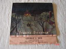 1941 Calendar Purina Pet Food - George S. Rex - Ashfield, Pa - Lehighton, Pa