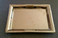 Ralph Lauren Silver Tone Mirrored Serving: Coin / Trinket / Jewelry Tray