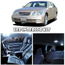 For 98-04 Lexus GS300 Interior LED Light Bulb Map Dome Trunk Plate Reverse x16