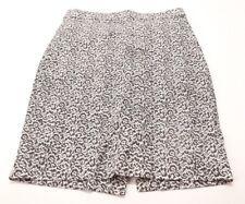 Women's J Crew Pencil Skirt Black White Size 0
