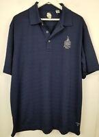 Lot of 2 CALLAWAY Golf Polo S/S Collared Shirts Blue Gray Men Sz XL
