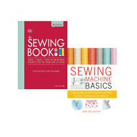 The Sewing Book New Edition,Sewing Machine Basics 2 Books Collection Set NEW