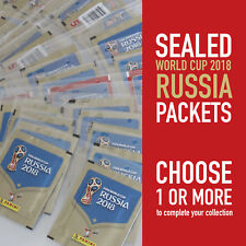 PANINI different sealed packets WORLD CUP 2018 RUSSIA WC 18 | choose your packet