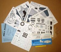 Douglas SBD-3 Dauntless 1990s Vintage PMI USA Cut-Out Model Kit (242)