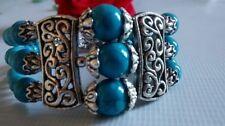 Turquoise Tibetan Silver Fine Jewellery