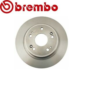 For Acura TSX Honda Accord Disc Brake Rotor Solid Rear 282x9mm BREMBO 08B27110