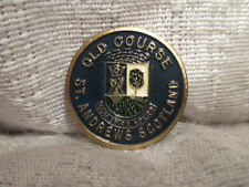 St Andrews Golf Links Old Course Flat Ball Marker Mark British Open