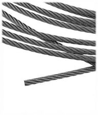 164 ft Stainless Steel Cable Wire Rope 1x19 configuration