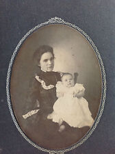 Mother with Baby Cabinet Card
