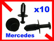 10 7mm agujero de plástico Remache Panel guarnecido de Retenedor Mercedes Benz Clips 20k
