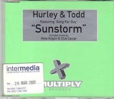 (DH569) Hurley & Todd, Sunstorm - 2000 DJ CD