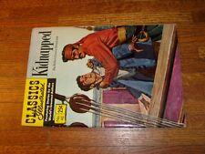 Classics Illustrated #46 (Hrn166), Fine/Vf, Kidnapped, stevenson, stiff cover