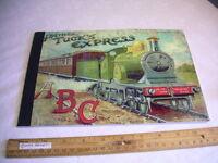 Raphael Tuck + Sons FATHER TUCK'S EXPRESS A B C 1885 Train railroad railway BOOK