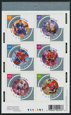 Canada 1972 Booklet MNH NHL All-Stars Ice Hockey