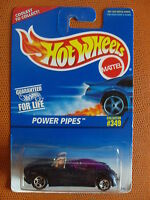 COLLECTOR N°349 POWER PIPES 1/64  HOT WHEELS MATTEL