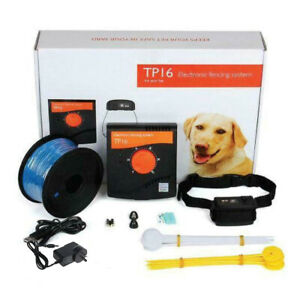 Electric Dog Fence System Invisible Electronic Wireless Pet Containment Collar