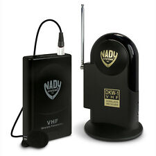Nady DKW-1-LT/O VHF Lavalier Microphone Lav Mic Omni Wireless System Band E5