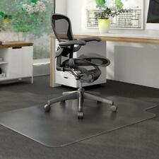 PVC Matte Desk Office Chair Floor Mat Protector for Hard Wood Floors 48