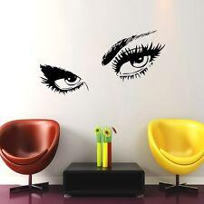 Augen Wimpern Beauty Wandtattoo Wallpaper Wand Schmuck  57 x 90 cm Wandbild