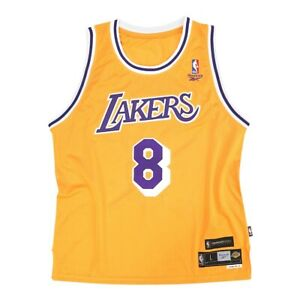 Kobe Bryant Reebok Los Angeles Lakers Gold Home Soul Swingman Jersey Men Medium