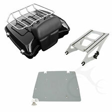 Razor Tour Pak Pack Trunk Luggage Rack For Harley Touring Road King Glide 14-Up